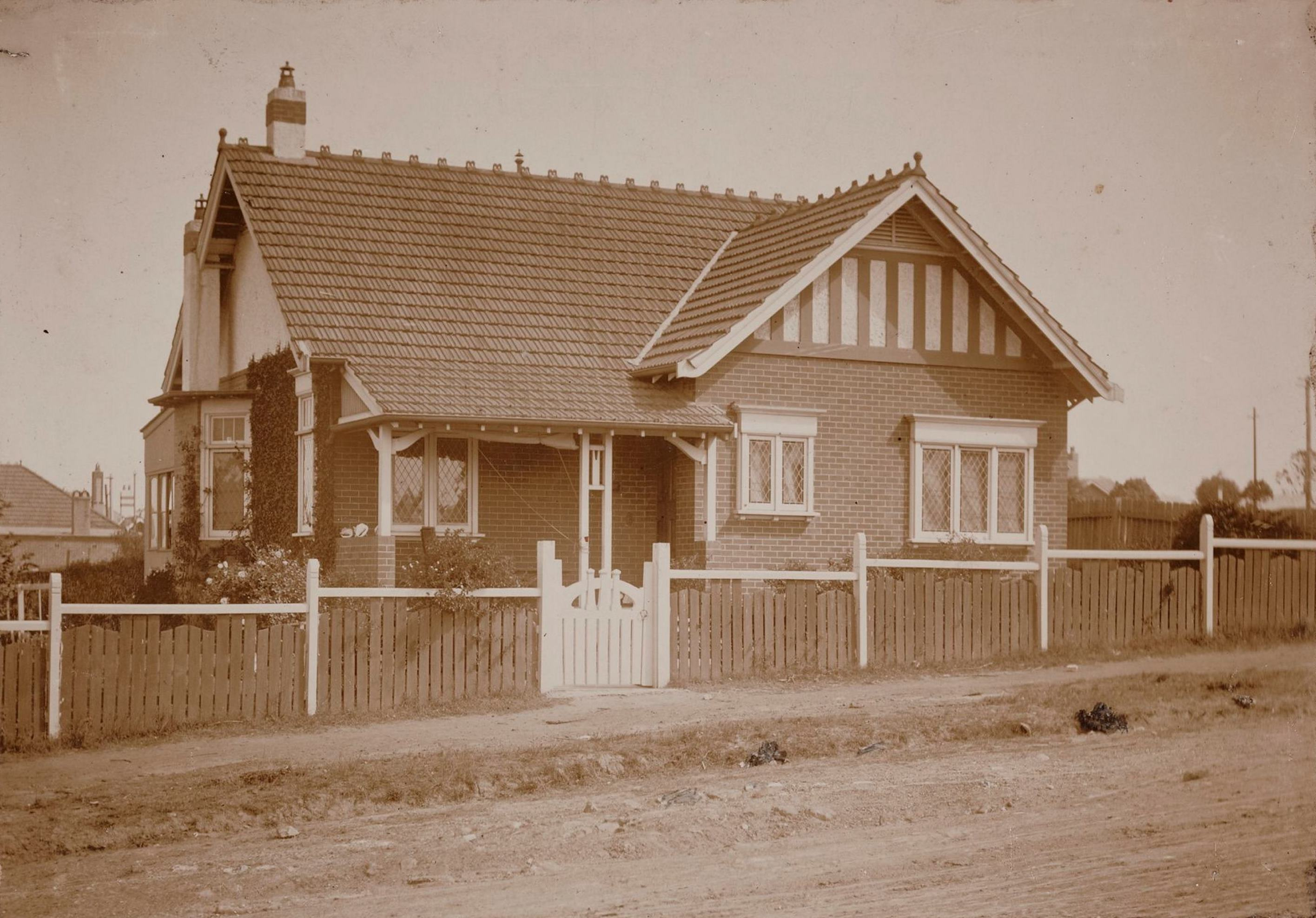 Lynwood, 171 Alt Street, Haberfield, N.S.W. around 1913 / photographer unknown