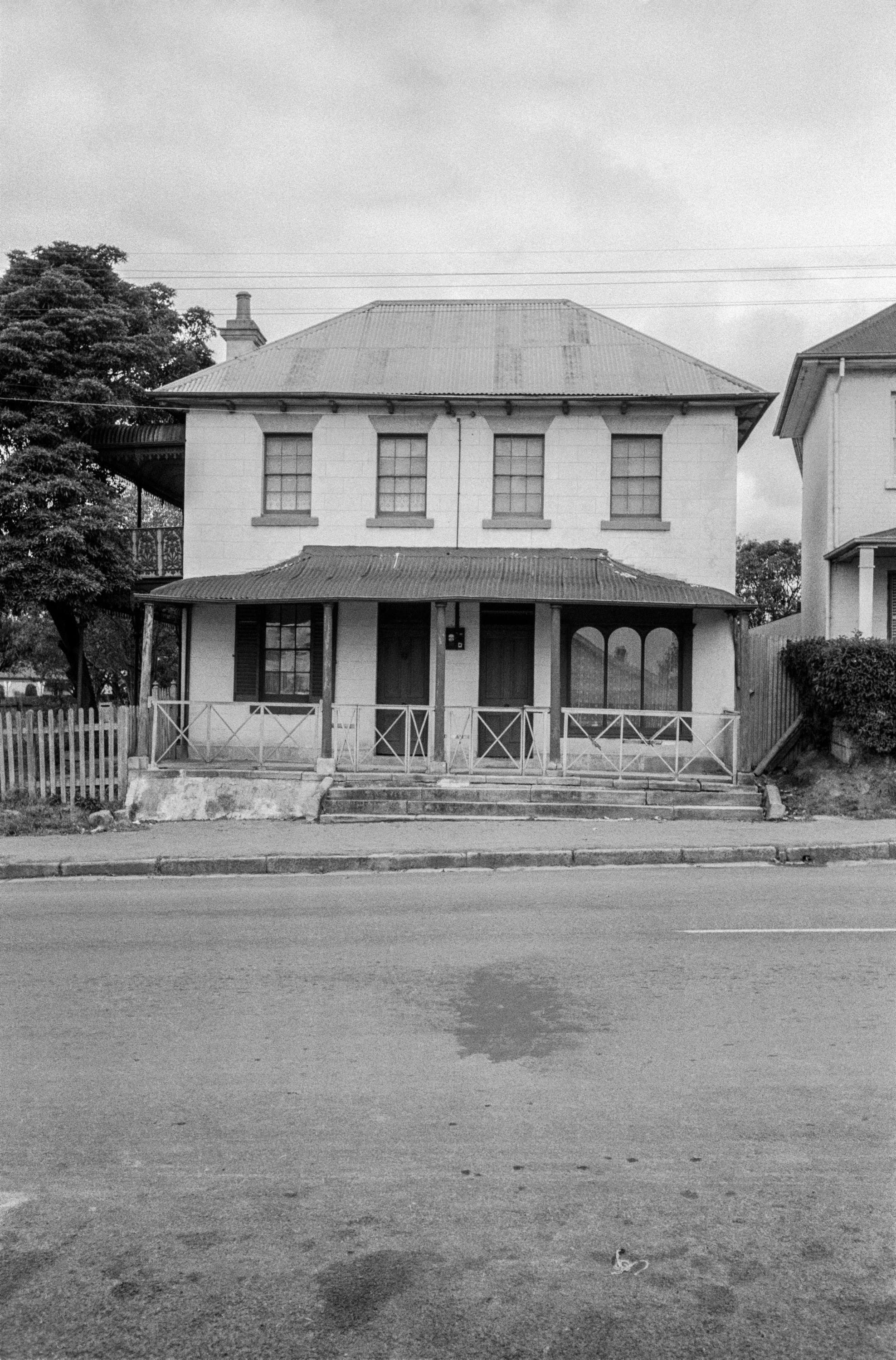 Old McGuanne House, 286 Queen Street, Campbelltown, January 1954