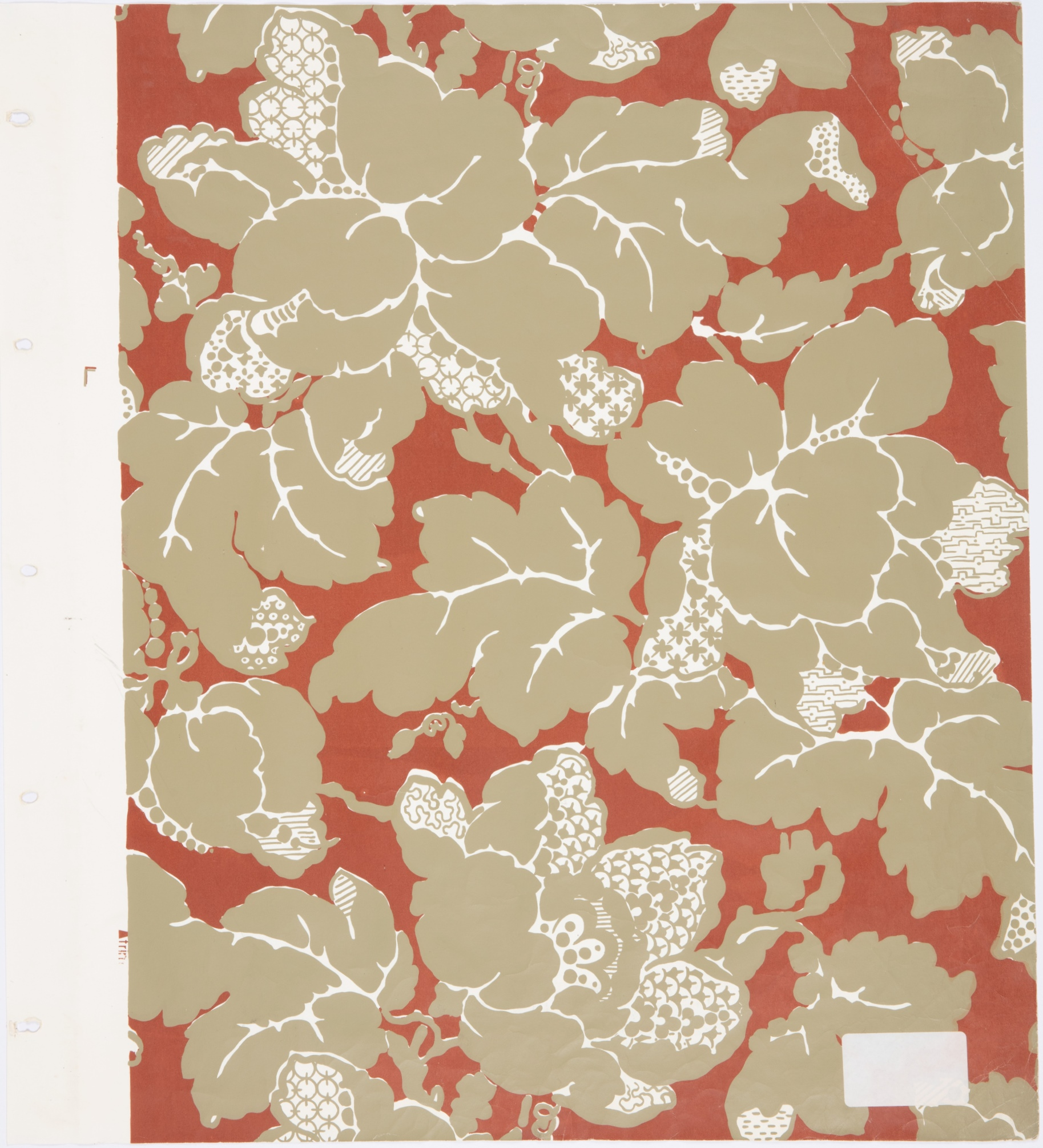 Wallpaper frieze recreated for Aberglasslyn House, Hunter Valley