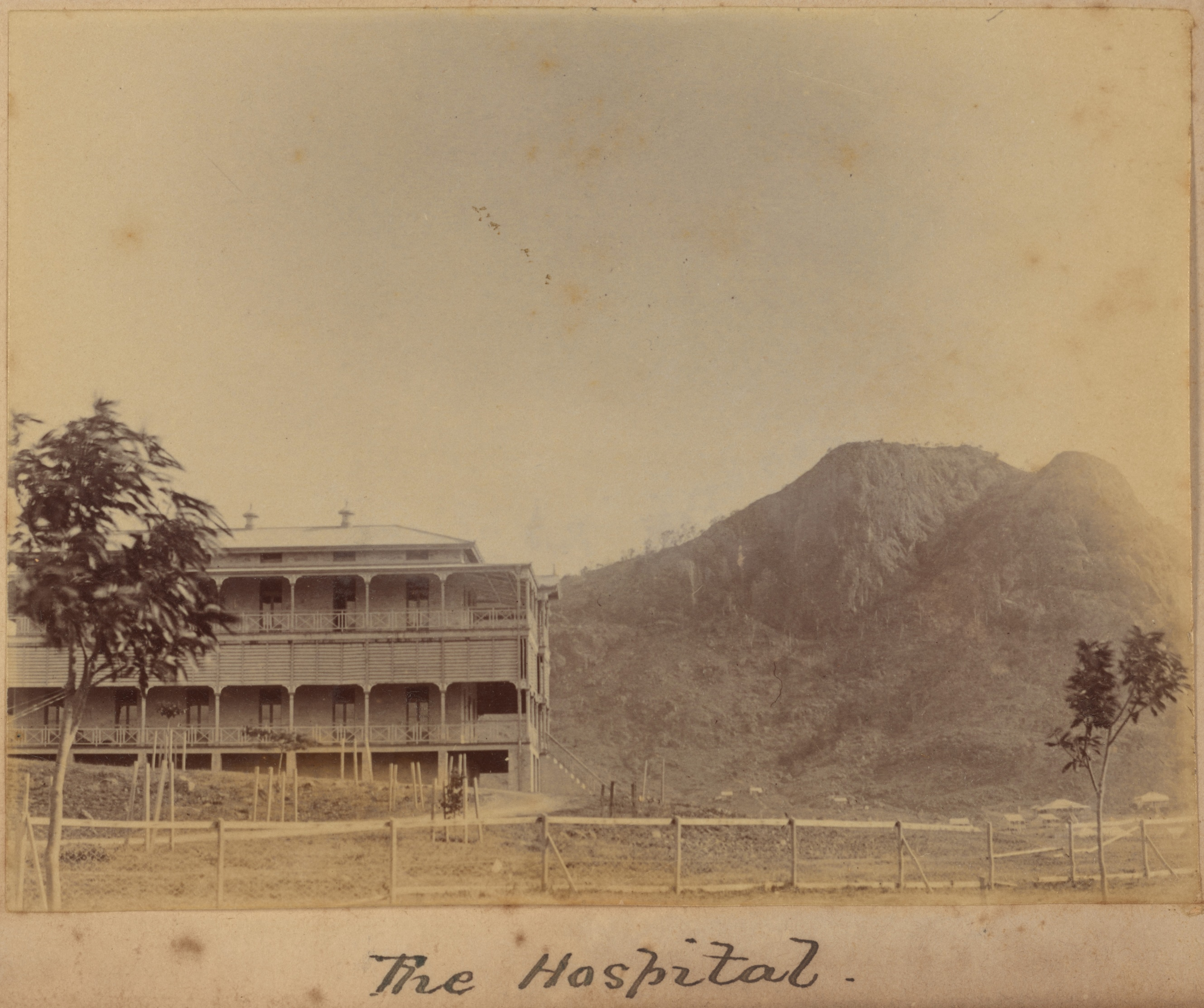 Townsville - the hospital