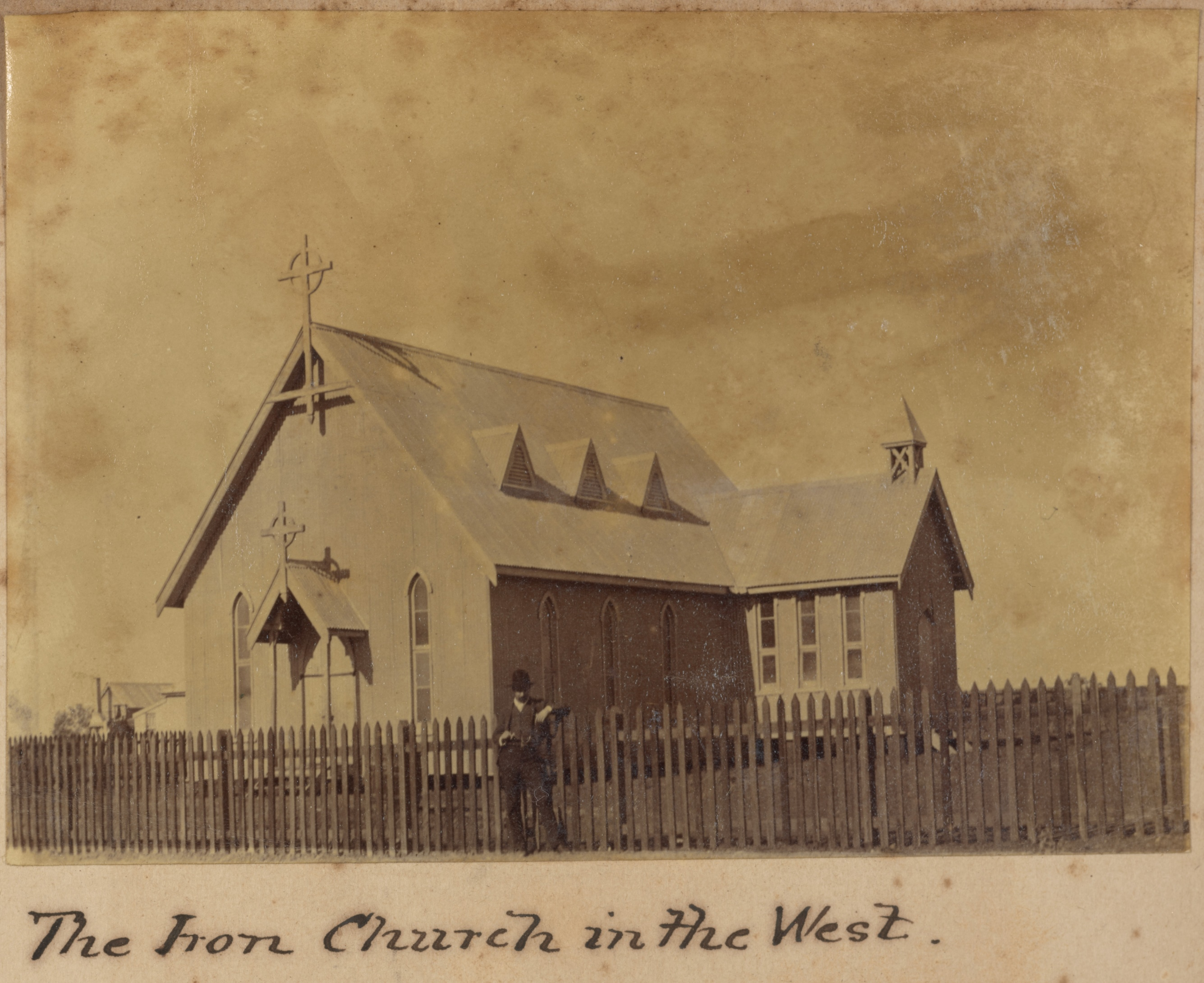 The iron church in the west
